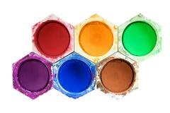 olika vattenfärger Royaltyfri Bild