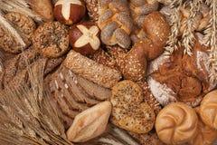 olikt bröd Arkivbild