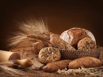 olikt bröd Royaltyfria Bilder