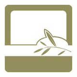 Olil verde-oliva/etiqueta Fotos de Stock Royalty Free