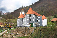 Olimje Castle in Slovenia Royalty Free Stock Photography