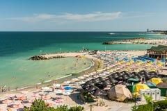 Olimp-Ferienzentrum-hohe Ansicht Lizenzfreie Stockfotografie