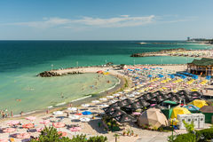 Olimp Holiday Resort High View Royalty Free Stock Photography