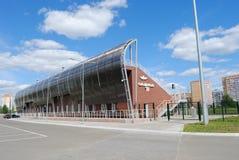 Olimp stadium in Kazan. Built for the Universiade 2013 stock photos