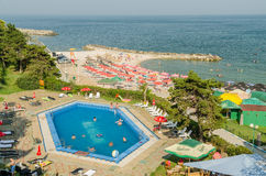 Olimp Summer Resort In Romania Stock Photos