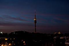 Olimpia Turm Monachium Obraz Stock