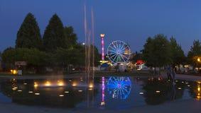 Olimpia, WA usa - Lipiec, 16 2015 Główny wydarzenie w olimpia, WA jest Capitol Lkae jarmarkiem który trzyma każdego roku w Lipu Fotografia Royalty Free