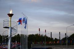 Olimpiada de los deportes al aire libre Imagenes de archivo