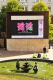 Olimpiadas 2012 de Londres Imagenes de archivo