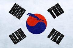 Olimpiadas de invierno de la Corea del Sur - salto de esquí stock de ilustración