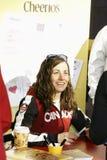 Olimpiadas de la medalla de oro de Maelle Ricker Imagenes de archivo