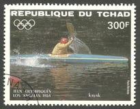 Olimpiadas de verano de Los Ángeles, sola competencia Foto de archivo
