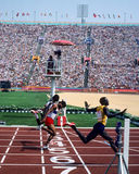 1984 Olimpiadas Los Ángeles Fotos de archivo libres de regalías
