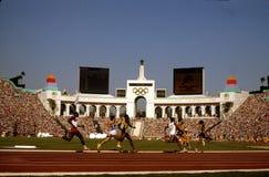 1984 Olimpiadas Los Ángeles Imágenes de archivo libres de regalías