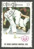 Olimpiadas Montreal, judo fotos de archivo libres de regalías