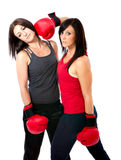 Olimpic boxing match Royalty Free Stock Photography