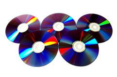 Olimpic disc Royalty Free Stock Photo