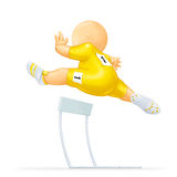 Olimpic games - Hurdles Stock Images