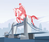 Olimpic London. The London Olympic games concept Royalty Free Stock Image