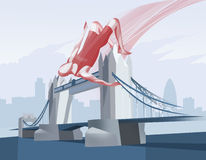 Olimpic London. The London Olympic games concept Royalty Free Stock Photos