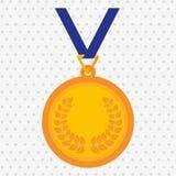 Olimpic medal design Royalty Free Stock Photo