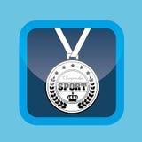 Olimpic medal design Stock Image