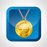 Olimpic medal design Stock Images