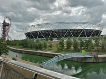 Olimpic park. London Olympic Park Stock Photo