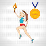 Olimpic sport  design Royalty Free Stock Images