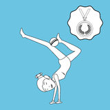 Olimpic sport  design Stock Photography