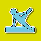 Olimpic sport  design Stock Image