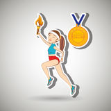 olimpic sport  design Royalty Free Stock Photos