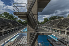 Olimpica del piscina de BerlÃn Imagenes de archivo