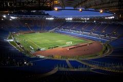 Olimpico de Stadio, Roma Foto de Stock Royalty Free