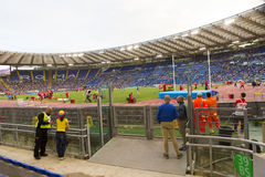 Olimpico di Stadio Fotografia Stock