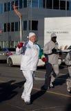 olimpijska sztafetowa pochodnia Obraz Stock