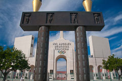 Olimpijski Los Angeles Kolosseum obrazy stock