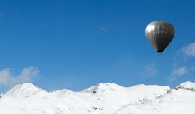 olimpijski lotniczy balon Fotografia Stock