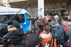 Olimpijski mobilny probierczy pojazd Zdjęcie Stock
