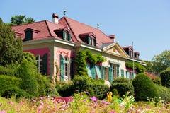 Olimpijski Muzealny budynek w Parkowym Lausanne fotografia royalty free