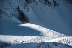 Olimpijski ośrodek narciarski, Krasnaya Polyana, Sochi, Rosja Zdjęcia Stock