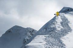Olimpijski ośrodek narciarski, Krasnaya Polyana, Sochi, Rosja Obraz Royalty Free
