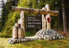 Olimpijski park narodowy, stan washington obraz stock