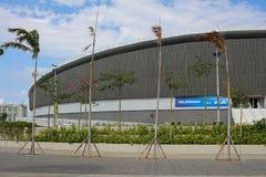 Olimpijski park Rio 2016 przekształcać w czasu wolnego terenu b Obraz Stock