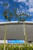 Olimpijski park Rio 2016 przekształcać w czasu wolnego terenu b Zdjęcia Stock