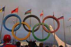 Olimpijski park w Sochi Obraz Royalty Free