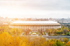 olimpijski powikłany luzhniki Fotografia Stock