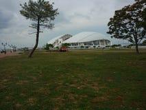 Olimpijski stadium & x22; Fisht& x22; zdjęcia royalty free