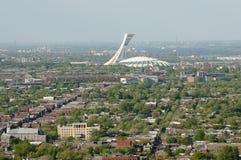 Olimpijski stadium Montreal, Kanada - zdjęcie stock