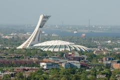 Olimpijski stadium Montreal, Kanada - zdjęcia royalty free